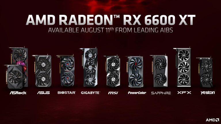 AMD анонсировала возможного «короля» бюджетного рынка видеокарт — Radeon RX 6600 XT
