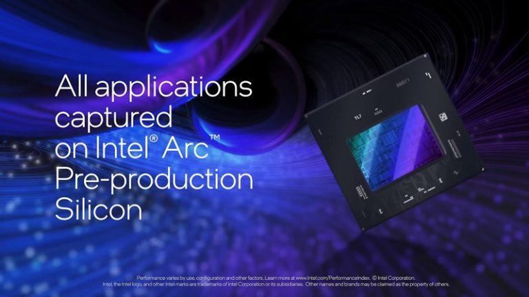 Intel впервые рассказала о будущей линейке своих игровых видеокарт Arc