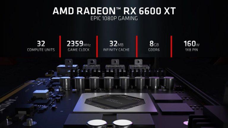 Radeon RX 6600 XT — сильный конкурент GeForce RTX 3060 по достойной цене