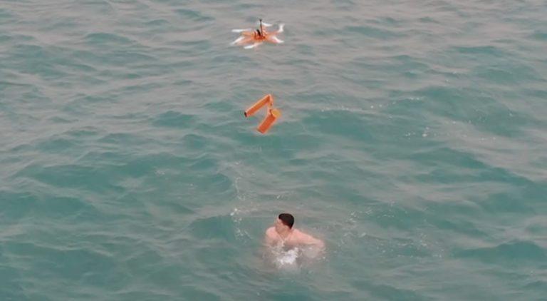 В Анапе дрон спас тонущего мужчину