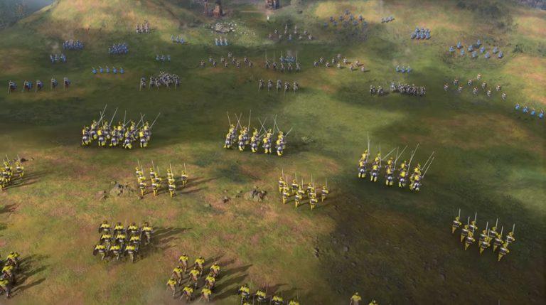 Microsoft выпустила новый геймплей трейлер Age of Empires 4