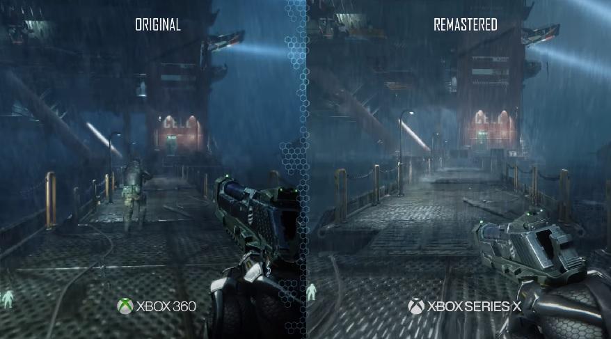 Студия Crytec показала разницу между оригинальным шутером Crysis и готовящимся переизданием