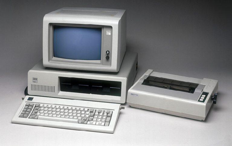 40 лет назад вышел первый персональный компьютер IBM