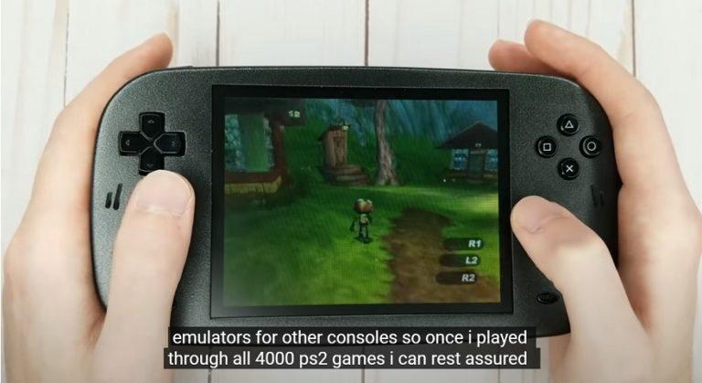 Энтузиаст перекомпоновал PlayStation 2 в портативную игровую консоль
