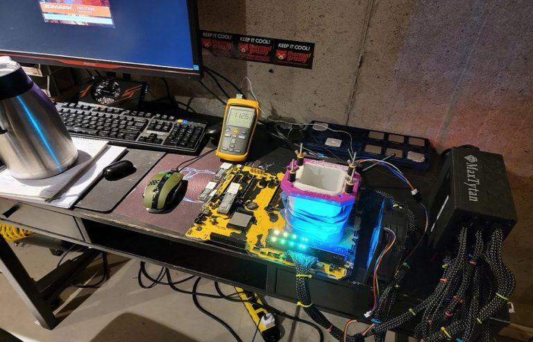 Видеоядро гибридного процессора Ryzen 7 5700G разогнали почти до 3Ггц