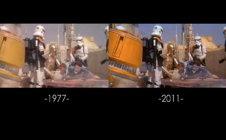 Как осовременивалась самая первая часть киносаги «Звёздные Войны» вышедшая в 1977 году