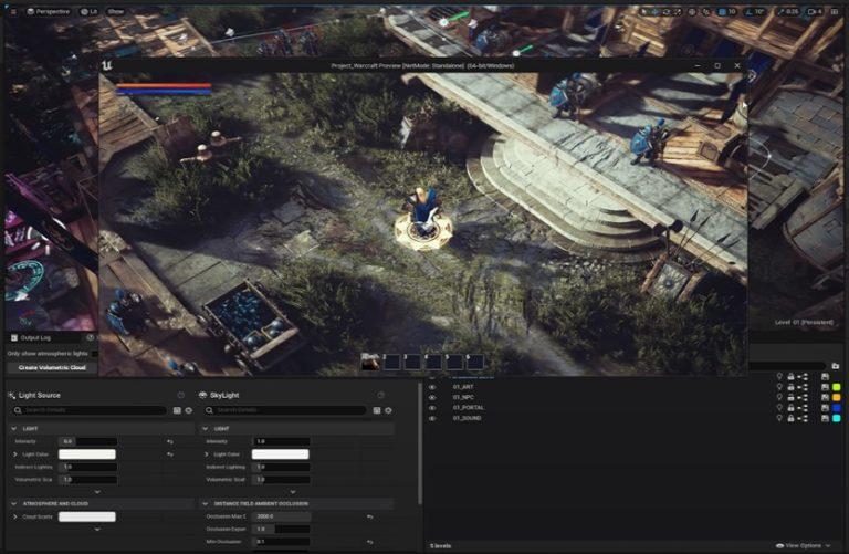 Энтузиаст в одиночку создаёт ремастер Warcraft III на движке Unreal Engine 5