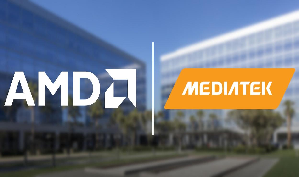 AMD совместно с MediaTek займётся разработкой чипов