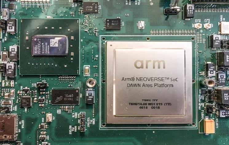 ARM Holdings разработала две высокопроизводительные серверные архитектуры