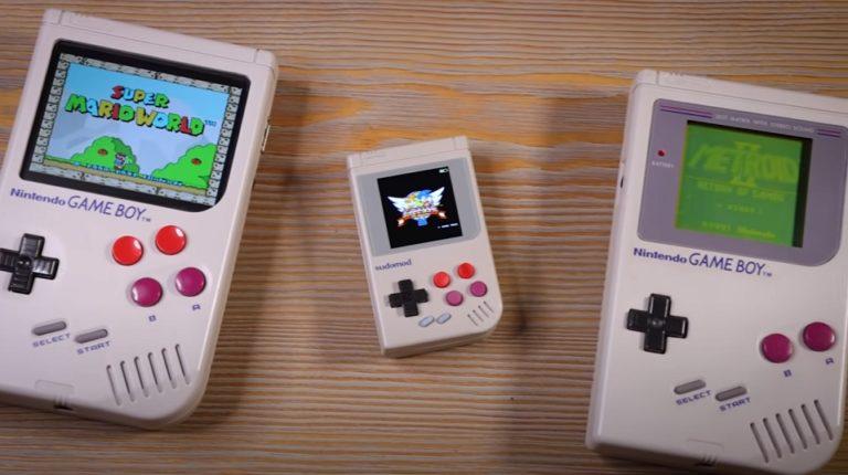 Инженер — одиночка создал миниатюрную версию Game Boy из Raspberry Pi Zero