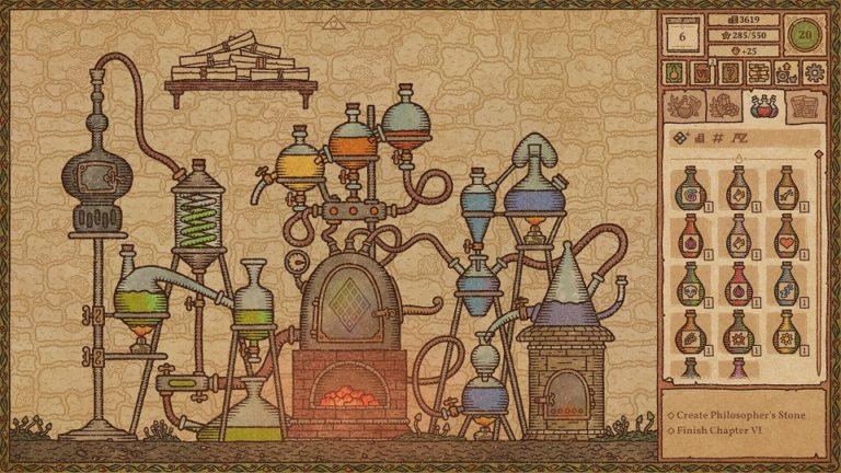 Игра — симулятор алхимика попала в ранний доступ Steam и сразу стала суперхитом