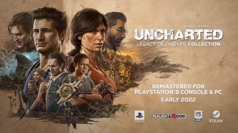 Обновлённая версия Uncharted 4 выйдет на PlayStation 5 и ПК