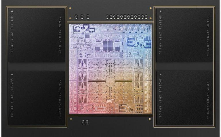 Apple представила ARM процессоры M1 Pro и M1 Max в составе новейших ноутбуков MacBook Pro