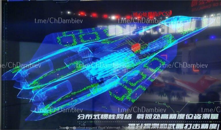 Китай представил концепт истребителя шестого поколения