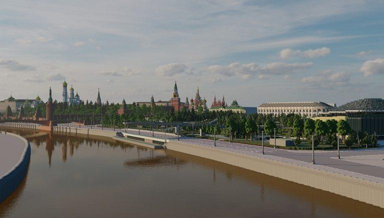 В Minecraft воссоздали Москву